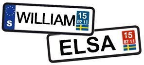 William och Elsa