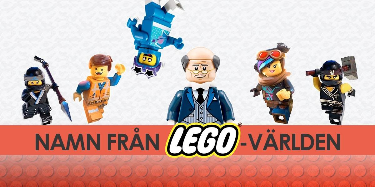 Namn från Lego-världen